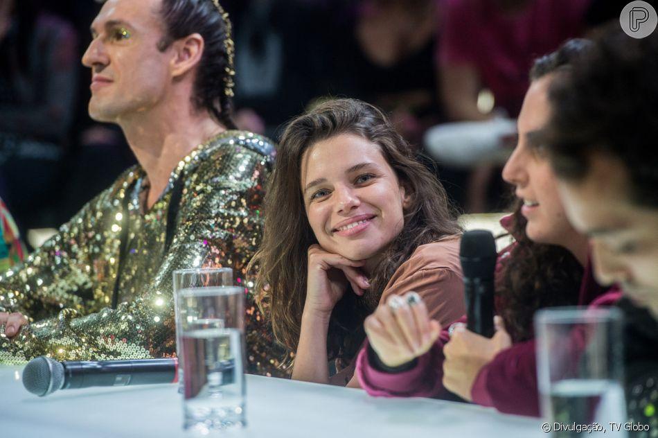 Bruna Linzmeyer reprovou ser rotulada como 'lésbica' ou 'sapatão' no 'Amor & Sexo' desta terça-feira, 9 de outubro de 2018