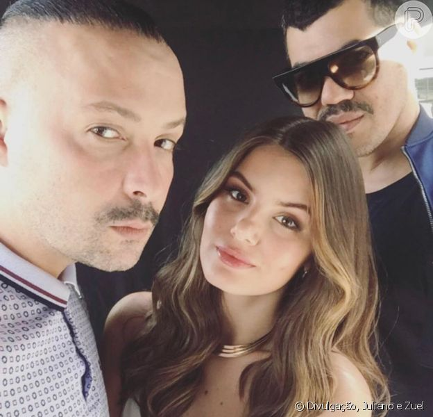 A dupla fashion Juliano e Zuel é a responsável pelo styling de Camila Queiroz!