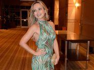Eliana realça a boa forma com vestido justo em evento beneficente. Veja fotos!