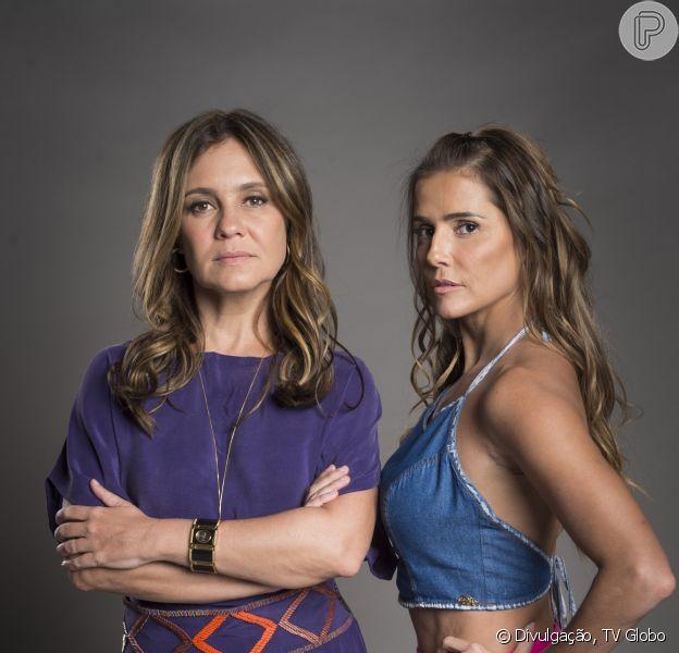 Laureta (Adriana Esteves) ordena que Karola (Deborah Secco) atire em Remy (Vladimir Brichta), na novela 'Segundo Sol', em 11 de outubro de 2018