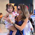 Mãe de Sofia, de dois anos, a atriz falou que o nascimento da filha mudou a sua vida completamente