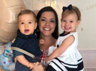 Thais Fersoza destaca semelhança da filha, Melinda, com sobrinha de Teló. Vídeo!