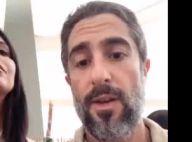 Marcos Mion mostra 1ª comunhão dos filhos, Romeo, Donatella e Stefano. Vídeo!