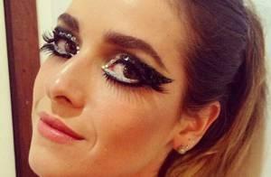 Carnaval 2013: com maquiagem elaborada, Monique Alfradique desfila na Grande Rio