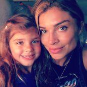 Grazi Massafera conversa com a filha sobre passado humilde: 'Ela se emociona'