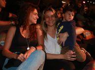 Fernanda Gentil leva filho, Gabriel, e namorada, Priscila, a espetáculo. Fotos!