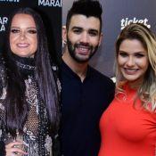 Maiara elogia Gusttavo Lima em foto: 'Com todo respeito, Andressa Suita'
