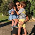 Adriana Sant'Anna é mãe de Linda, de 8 meses, e Rodrigo, de 2 anos