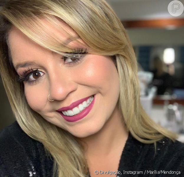 Marília Mendonça, 20 quilos mais magra, não descuida do corpo