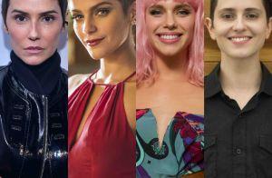 Tudo pela arte: veja fotos de famosas que mudaram o cabelo para novelas