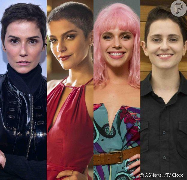 Veja, a seguir, as famosas que mudaram o cabelo para novelas!