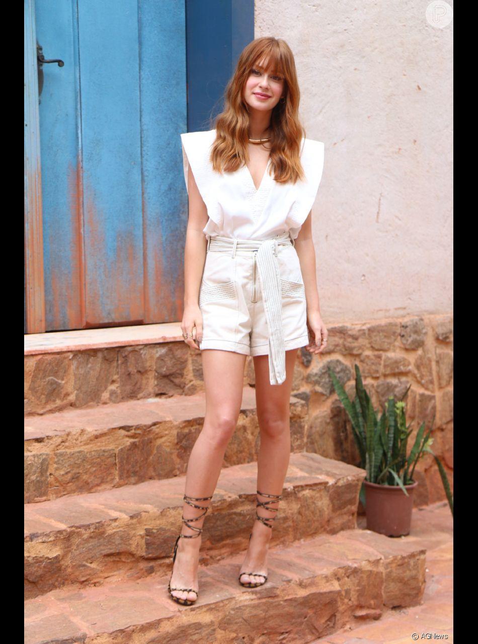 Marina Ruy Barbosa descartou a possibilidade de ser modelo após assinar com um agência