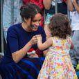 Meghan Markle dançou brevemente com Catalina, de 2 anos