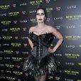 A modelo Padma Lakshmi foi de Cisne Negro à 19ª festa de Halloween de Heidi Klum em Nova York, nos Estados Unidos, na noite desta quarta-feira, 31 de outubro de 2018