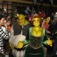 Veja as fantasias dos famosos no 19ª festa de Halloween de Heidi Klum em Nova York, nos Estados Unidos, na noite desta quarta-feira, 31 de outubro de 2018
