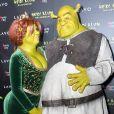 Namorado de Heidi Klum, o músico Tom Kaulitz, entrou no clima da brincadeira e foi de Shrek