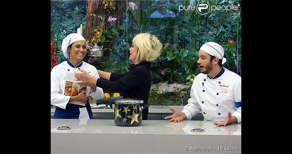 Thaíssa Carvalho foi eliminada do quadro 'Super Chef Celebridades' nesta quinta-feira, 28 de agosto de 2014