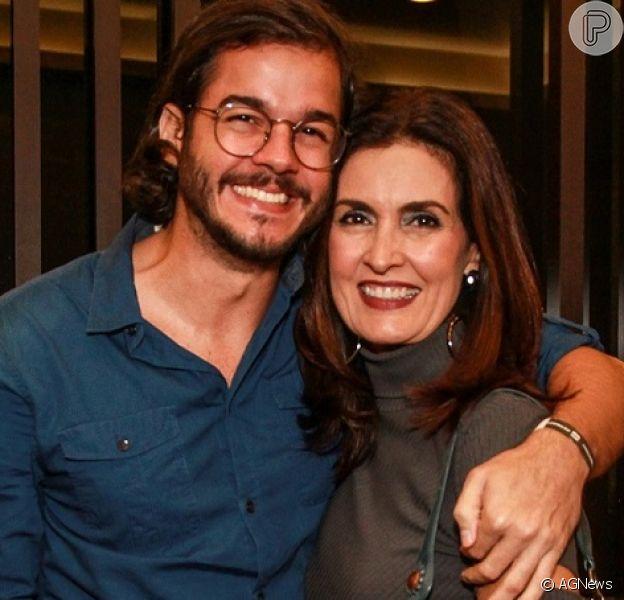 Fátima Bernardes comemorou um ano de namoro com Túlio Gadêlha nesta sexta-feira, 2 de novembro de 2018
