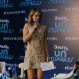 Mariana Ximenes ganha destaque durante evento da marca de amaciantes Downy