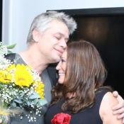 Fabio Assunção é prestigiado por Susana Vieira e pela ex Pally Siqueira em peça