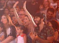 Filha de Deborah Secco e Hugo Moura, Maria Flor esbanja fofura em circo. Fotos!