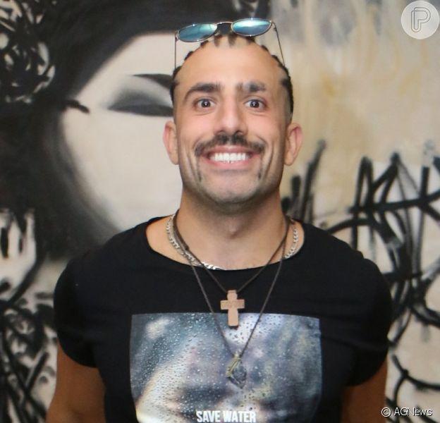 Globo escala ex-BBB Kaysar para novela após teste, como autora confirma ao 'UOL' nesta segunda-feira, dia 05 de outubro de 2018