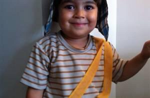 Juliana Paes veste o filho de Chaves; confira os filhos de famosos na folia