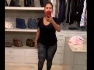 Simone, com look fitness, mostra balança de peso: 'Fica no banheiro'. Vídeo!