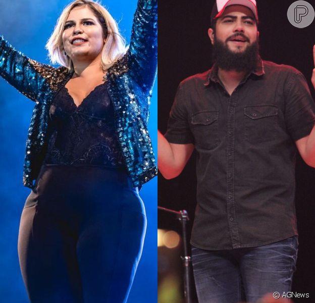 Após foto, fãs voltam a shippar Marília Mendonça com Henrique, dupla com Juliano, em 26 de novembro de 2018