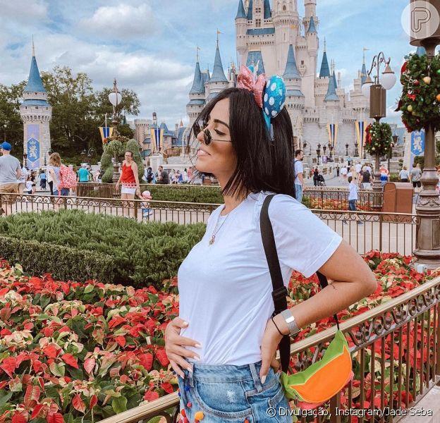 Aos 25, Jade Sebá diz que gravidez era parte dos planos, como contou em entrevista ao Purepeople publicada nesta sexta-feira, dia 30 de novembro de 2018