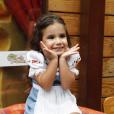 Maria For, filha de Deborah Secco, faz 3 anos