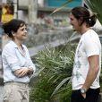 Cora (Drica Moraes) se encantou por Robertão (Romulo Neto) ao conhecê-lo, em 'Império'