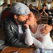 Cauã Reymond e Mariana Goldfarb fazem viagem romântica e se beijam em Portugal