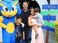 Wanessa Camargo reúne família em aniversário de 7 anos do filho José Marcus