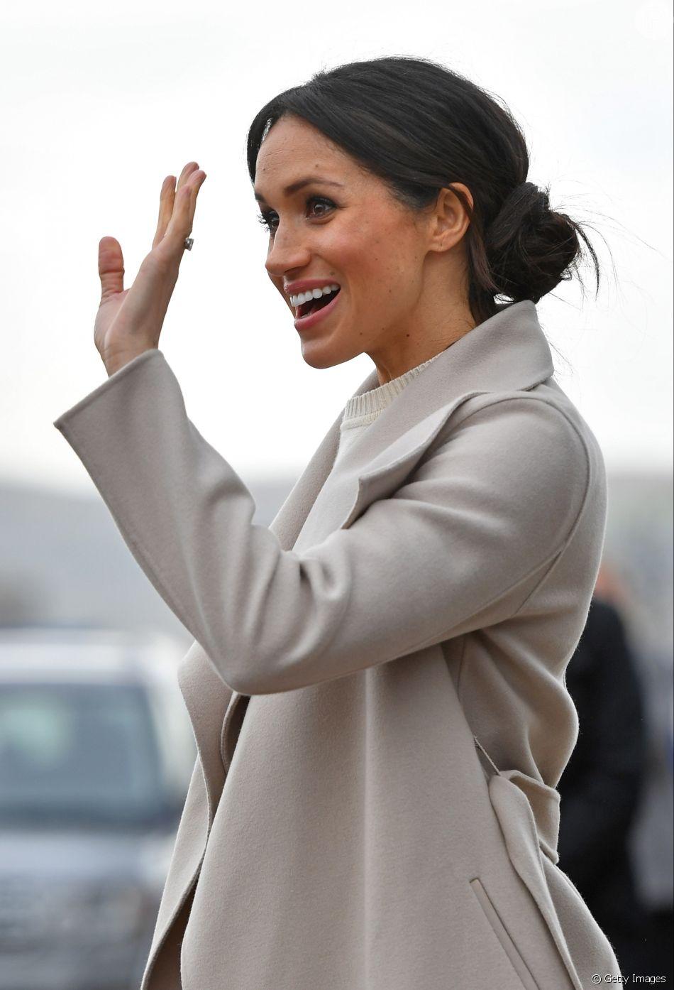 Meghan Markle: coque é um dos penteados favoritos da duquesa de Sussex
