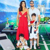 Juliana Paes festeja aniversário do filho Pedro com tema esportivo: 'Meu anjo'