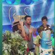 Juliana Paes mostra momento do parabéns no Instagram Stories