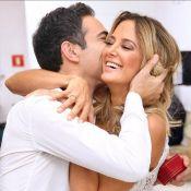 Ticiane Pinheiro se declara no aniversário de Cesar Tralli: 'Meu vidinho'