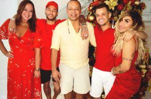 Natal de Neymar teve ceia à luz de velas e 200 balões de led. Veja a decoração!