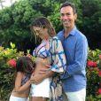 Aos 3 meses de gestação, Ticiane Pinheiro anunciou gravidez no fim de 2018