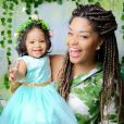 Yolanda é sucesso nas redes sociais da mãe, Juliana Alves