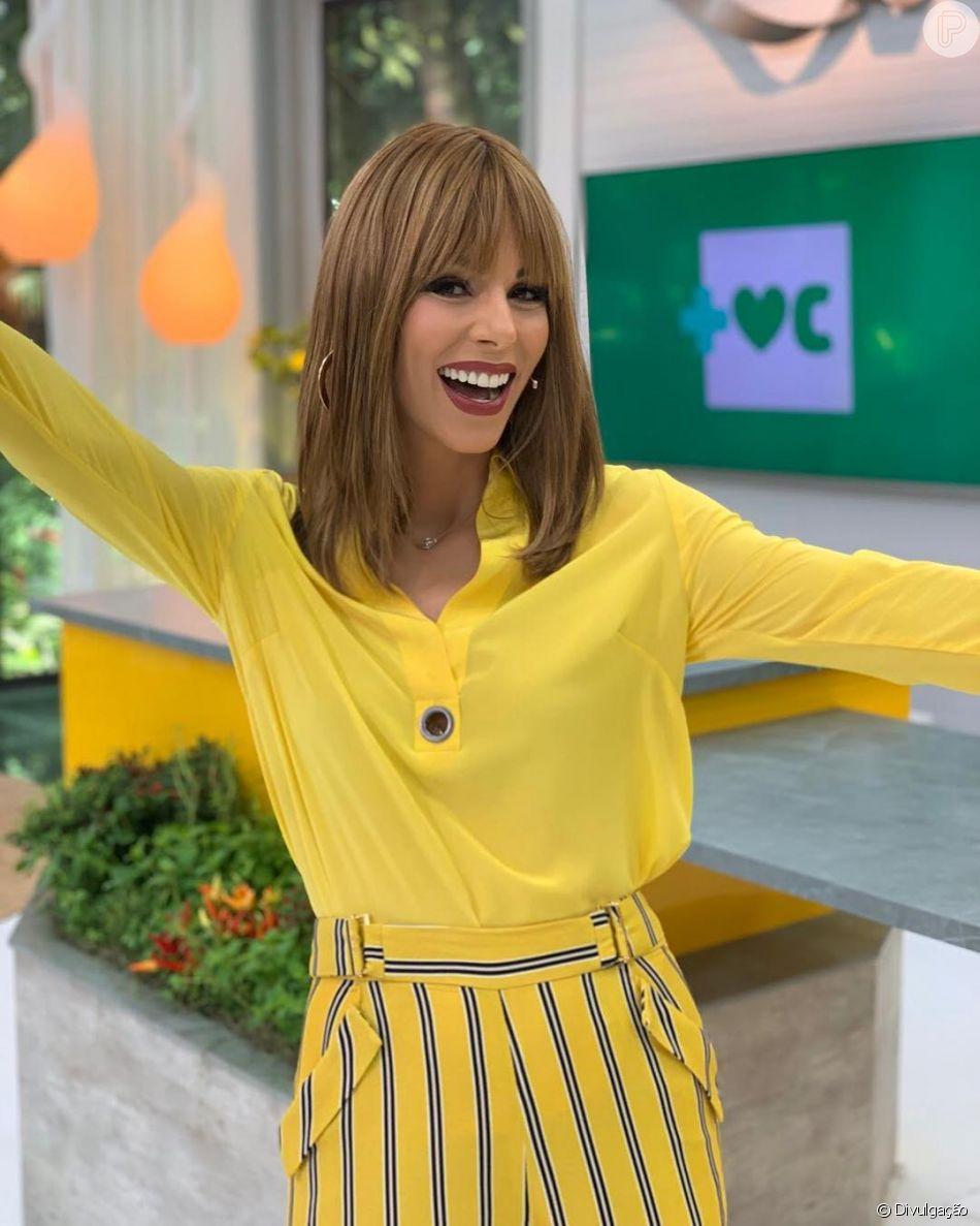 Ana Furtado estreia como apresentadora do 'Mais Você'