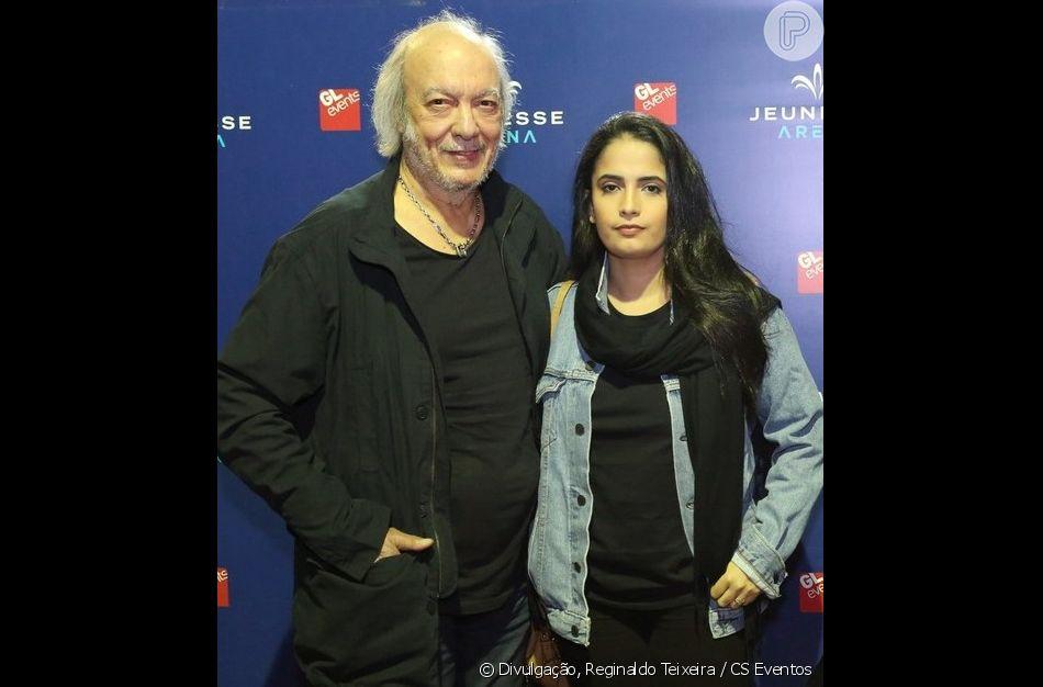 Erasmo Carlos se casa com Fernanda Passos