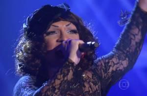 Drag queen Deena Love conquista famosos na estreia do 'The Voice Brasil'