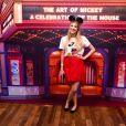 Larissa Manoela e mais famosas prestigiam exposição Mickey 90 anos  no Shopping JK Iguatemi, em São Paulo, na noite desta quinta-feira, 17 de janeiro de 2018