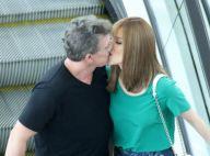 Ana Furtado ganha beijo de Boninho em passeio no shopping com a família. Fotos!