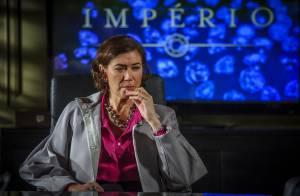 'Império': ao saber que Maria Marta tem amante, Zé Alfredo resolve investigá-la