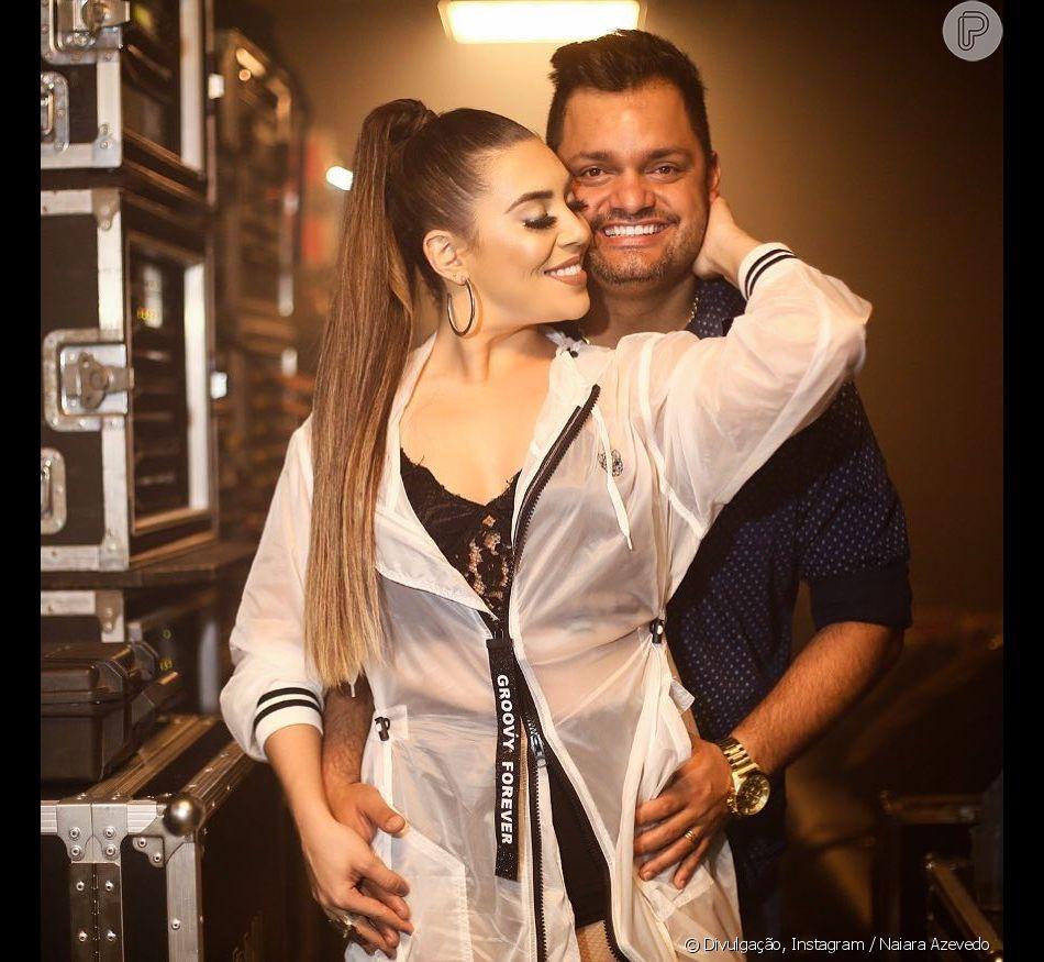 Naiara Azevedo negou fim de casamento com empresário  Rafael Cabral nesta quinta-feira, 14 de fevereiro de 2019