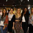 Famosos prestigiam evento de moda em shopping no Rio de Janeiro