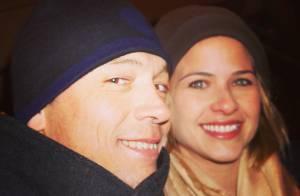 Luiza Valdetaro curte férias na neve ao lado do marido, Alberto Blanco, em Aspen